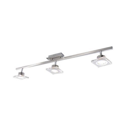 LED-Deckenleuchte Stahl, Acryl teilsatiniert
