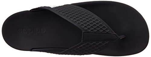Adidas Men's Adilette Sc+ Thong Black Flip-Flops and House Slippers - 4 UK