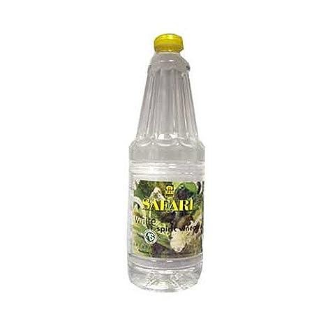 Safari White Spirit Vinegar 750ml - South African spirit vinegar - WHITE SPIRIT VINEGAR BOTTLE - Naturally Fermented - Vinegar from South Africa - Barefoot Biltong White Spirit Vinegar