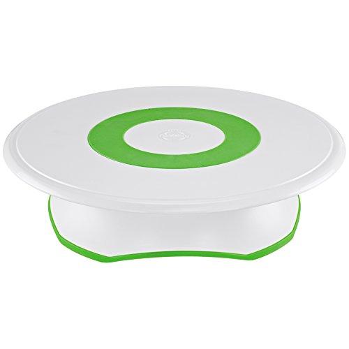 Wilton Trim 'N Turn Ultra Cake Stand Tortenuntersetzer Kunststoff - Weiß