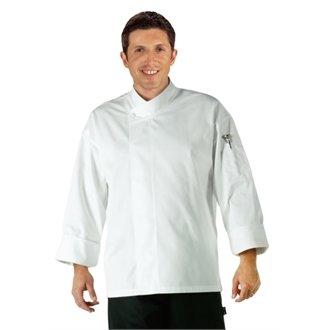 Whites Chefs Apparel a098-l Orlando Unisex Köche Tunika, Größe L, weiß (Koch Tunika)
