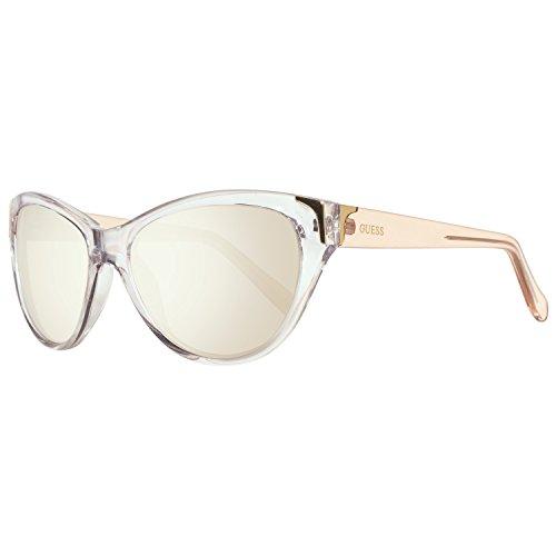 Guess Damen GU7323-58G64 Sonnenbrille, Transparente, 58