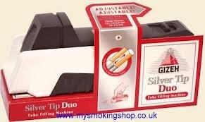 Preisvergleich Produktbild Gizeh Zigarettenstopfmaschine silver tip duo