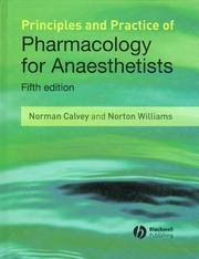 Pharmacology for Anaesthetists. Fifth Edition.