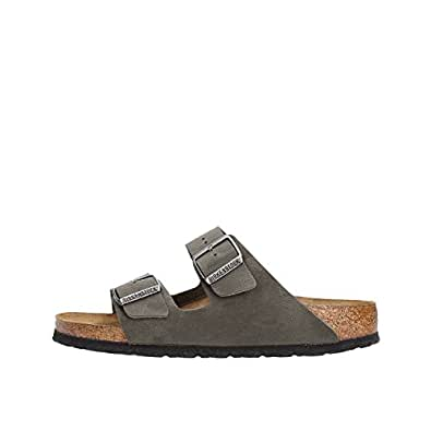 BIRKENSTOCK SANDALS DOUBLE BAND AND CLOSING WITH BUCKLES grey 37