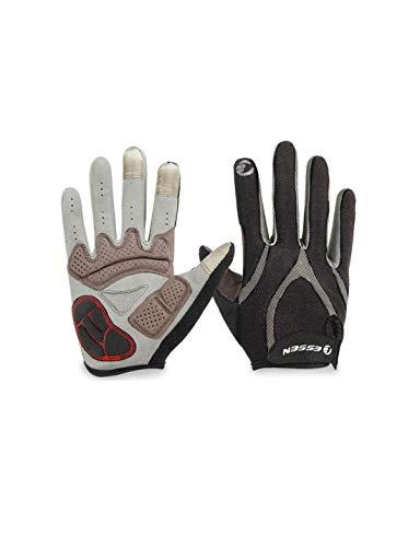 WYSTAO Handschuhe können Touchscreen-Silikon Verdickung Palm Pad Männer und Frauen Frühling und Sommer Bergstraße Fahrrad Fahrrad Motorradfahren Stoßdämpfer Vollfinger-Handschuhe Sein (Farbe : L)