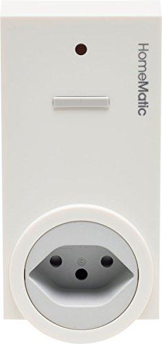 HomeMatic Funk-Schaltaktor 1-fach, Zwischenstecker, Typ J Schweiz, 141130A0