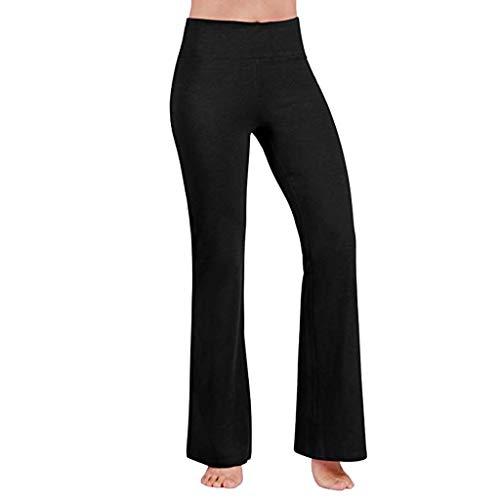 Voicry Damen Hosen Damen Hosen Herren high Waist Hosen für Damen Hosen Chino Hosen für Herren Damen Hosen(Schwarz,X-Small)