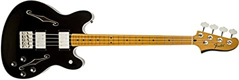 Fender 0243302506 Starcaster Bass Maple Fingerboard Electric Guitar - Black