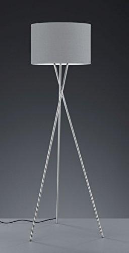 khl led stehlampe standleuchte prag stoffschirm dreifu. Black Bedroom Furniture Sets. Home Design Ideas