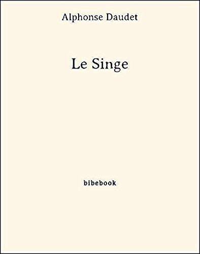 Couverture du livre Le Singe