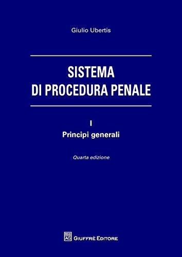 Sistema di procedura penale: 1