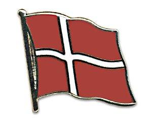 Yantec Flaggenpin Dänemark Pin Flagge
