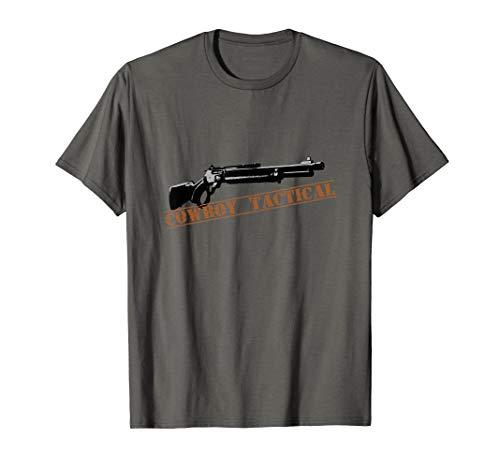 Cowboy Tactical Lever Action Rifle T-Shirt