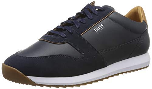 BOSS Sonic_Runn_ltsd, Herren Sneaker, Blau (Navy 401), 43 EU (9 UK)