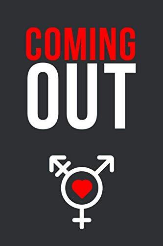 Coming Out: Notizbuch • Journal • Tagebuch für transsexuelle Männer und Frauen, sowie Transgender im wunderbaren Prozess der Bekenntnis zur eigenen Sexualität I Schwarz