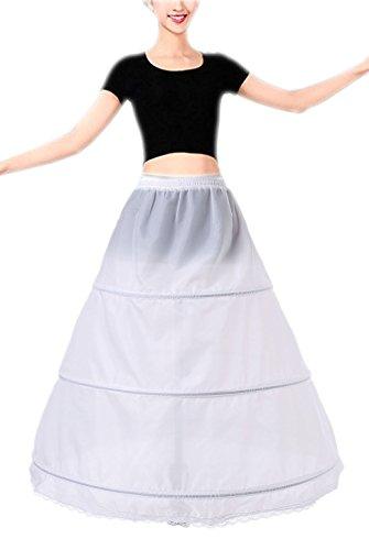 Babydress® Jupons crinoline 3 cerceau mariage jupon mariée jupon hoopless robe de mariée Jupons femme Jupes sculptantes wedding petticoat robe de bal jupon Jupes femme Jupon
