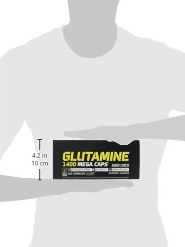 31WbS1tUVUL - Olimp Labs L-Glutamine Capsules, Pack of 120 Mega Capsules 24757