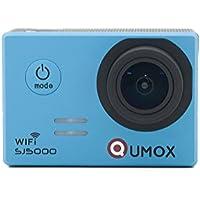 QUMOX SJ5000 wifi, Azione fotocamera Sport, blu,