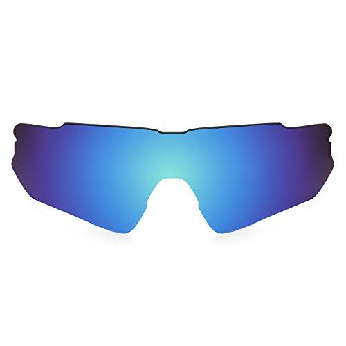 Revant Schutzglas für Oakley Radar EV Path Polarisierung Elite Eisblau MirrorShield® Asian Fit