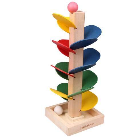 (P�dagogisches Spielzeug Bl�cke Holz Baum Marmor Ball Lauf Track Spiel Baby Kinder Kinder Intelligenz Fr�he P�dagogische Spielzeug)