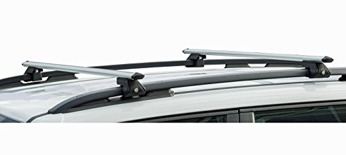 VDP Alu Relingträger CRV135 kompatibel mit Hyundai ix35 10-15 abschliessbar