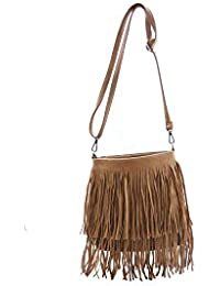 Avaneesh Synthethic Leather Women's Sling Bag In Brown Color