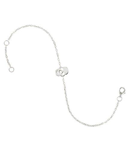 Tous mes bijoux Damen-Armband Totenkopf BRXCAR001-Silber 925/1000 18 cm Preisvergleich