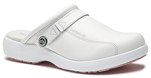 World of Clogs, Zoccoli donna Bianco/Rosa