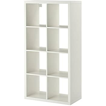 IKEA Regal Kallax das neue Expedit Regal 8 - Fach weiß 147 x 77 x ...