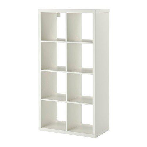 Holz wandregal ikea  IKEA Regal Kallax das neue Expedit Regal 8 - Fach weiß 147 x 77 x ...