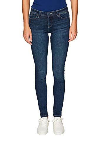 ESPRIT Damen 039EE1B002 Skinny Jeans, Blau (Blue Dark Wash 901), W30/L30 (Herstellergröße: 30/30) - Dark Blue Skinny Jeans