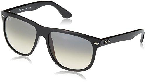 RAYBAN Unisex Sonnenbrille Rb4147 601/32, Gestell: Schwarz, Gläser: Hellgrau Verlauf, X-Large (Herstellergröße: 60)
