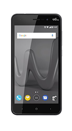 "Wiko Lenny4 SIM Doble 16GB Negro - Smartphone (12,7 cm (5""), 16 GB, 8 MP, Android, 7.0, Negro)"