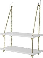 Brv Decorative Shelf - White, Bpl24-06