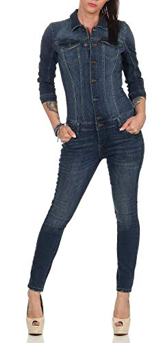 ONLY Damen Jumpsuit Indigo 42 (XL)