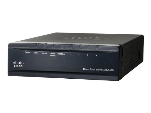 Cisco RV042G-K9-UK Dual Gigabit WAN Router VPN