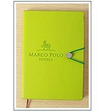 JxucTo Creativo Cuadernos y diarios de diario personal Cuadernos de papel para Office Home School (verde)