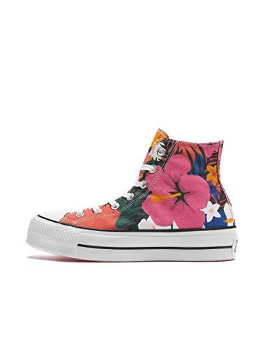 Converse Damen Sneakers Chuck Taylor All Star Lift Hi rot 39.5