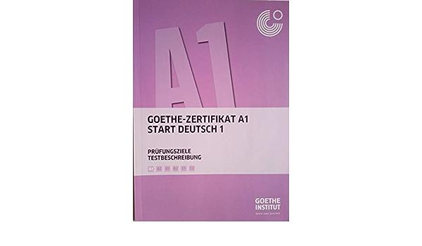 Goethe institut a1 punkte