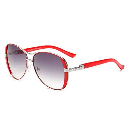 Retro Frauen Sonnenbrille PC Objektiv Metallrahmen UV Schutz Sand Proof Winddichte Brille für Sonnen Party Fahren Camping