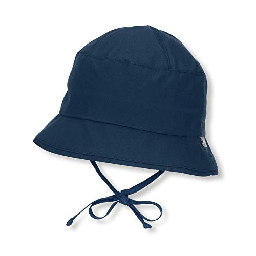 Sterntaler Fischerhut mit Bindebändern, Alter: 5-6 Monate, Größe: 43, Blau (Marine) - Baby Hut Größen