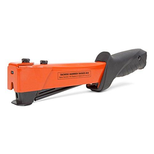 Tacwise 1173 A54 Hochleistungsfähiger Hammer Tacker (Typ 140/6-12mm Tackerklammern)