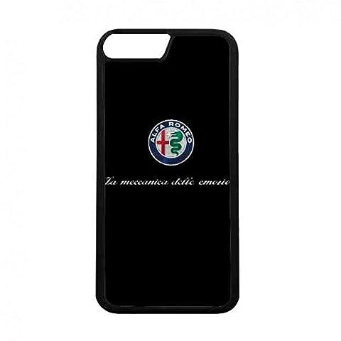schwarz silikon Hülle iPhone 7 Telefon-Abdeckung,Luxusmarke Bumper Handy-Schutzhüllen Alfa Romeo Handy-Schutzhüllen Handyzubehör,gute Qualität iPhone 7 handy zubehör Alfa Romeo Handy-Tasche