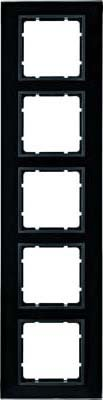 Hager 10156616 placa de pared y cubierta de interruptor Negro - Placas...