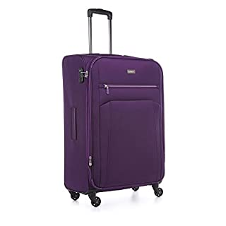 Antler Marcus Siro Großer Koffer Lila, Größe: 79 x 49 x 30