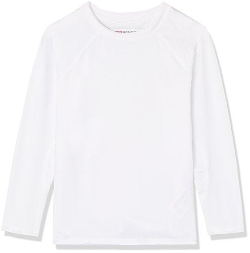 RED WAGON Sport Top Jungen, Weiß, 122 (Herstellergröße: 7 Jahre)