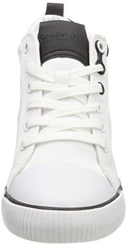 Calvin Klein Jeans Rory Nylon/Flocking, Baskets Hautes Femme