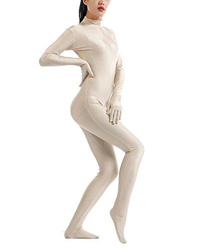 Second Skin Kostüm in zkörperanzug Bühnenaufführung Kostüm Nackt XXL (Nackt In Kostümen)