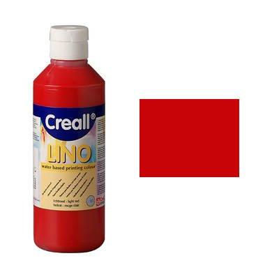 Linoldruckfarbe Creativ Discount 250ml Dunkelrot [Spielzeug]